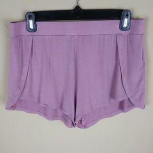 Tahari Lounge Pajama Shorts Blush Pink